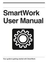 SmartWork User Manual Test