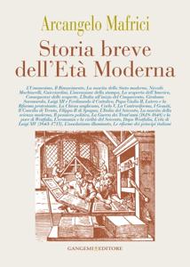 Storia breve dell'Età Moderna Copertina del libro