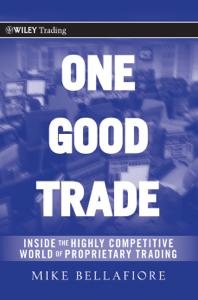 One Good Trade Copertina del libro