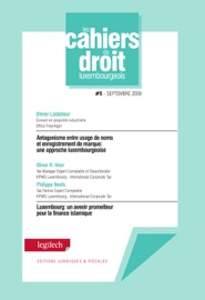 Cahier Du Droit Luxembourgeois N 5
