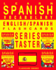 Flashcard Ebooks - Learn Spanish Vocabulary: Series Taster - English/Spanish Flashcards artwork