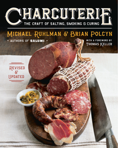 Charcuterie: The Craft of Salting, Smoking, and Curing (Revised and Updated) Libro Cover