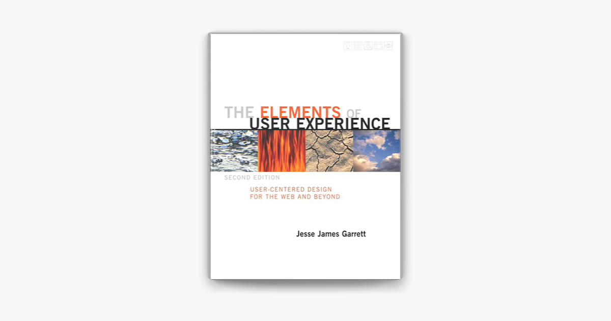 The Elements Of User Experience On Apple Books