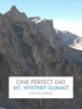 Paul L. Rogers - Mt. Whitney Summit г'ўгѓјгѓ€гѓЇгѓјг'Ї