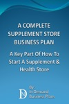 A Complete Supplement Store Business Plan A Key Part Of How To Start A Supplement  Health Store