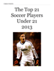 Tiber Worth - The Top 21 Soccer Players Under 21 2013 г'ўгѓјгѓ€гѓЇгѓјг'Ї