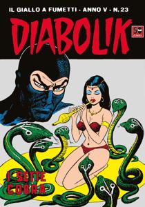 DIABOLIK (73) Copertina del libro