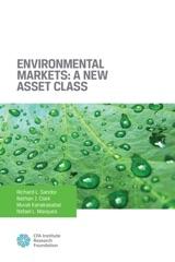Environmental Markets: A New Asset Class