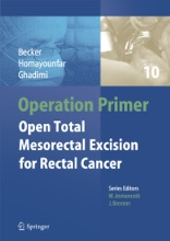 Operation Primer – Open Total Mesorectal Excision (TME) For Rectal Cancer