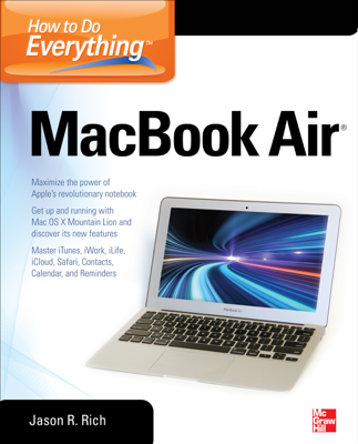 How to Do Everything MacBook Air - Jason Rich book