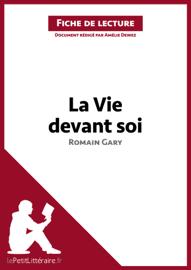La Vie devant soi de Romain Gary (Émile Ajar) (Fiche de lecture) book