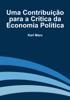 Karl Marx - Uma Contribuição para a Crítica da Economia Política grafismos
