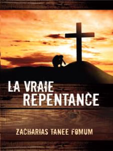 La Vraie Repentance La couverture du livre martien