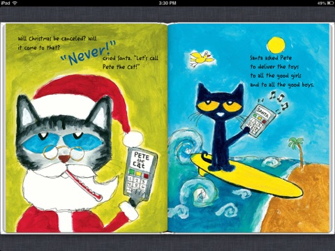 Pete The Cat Saves Christmas.Pete The Cat Saves Christmas By Eric Litwin On Apple Books