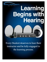 Learning Begins with Hearing