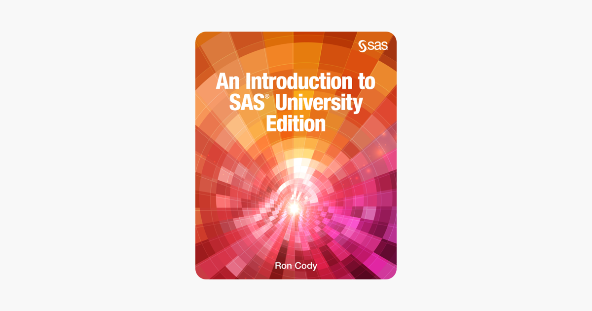 ‎An Introduction to SAS University Edition