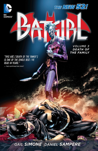 Batgirl Vol. 3: Death of the Family Libro Cover