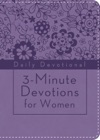 3-Minute Devotions For Women Daily Devotional Purple