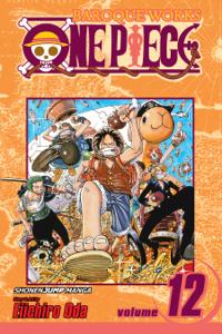 One Piece, Vol. 12 Copertina del libro