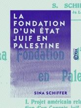La Fondation D'un État Juif En Palestine