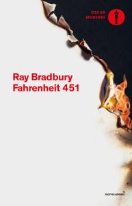 Fahrenheit 451 Copertina del libro