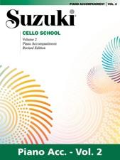 suzuki cello school volume 2 piano accompaniment revised edition fur cello klavierbegleitung
