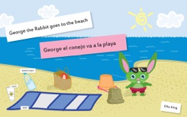 Baby Book George The Rabbit Goes To The Beach