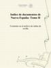 Secretaría de Cultura - Indice de documentos de Nueva España: Tomo II ilustración