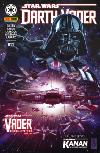 Darth Vader 11 Copertina del libro