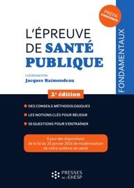 LéPREUVE DE SANTé PUBLIQUE