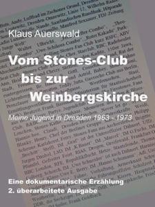 Vom Stones-Club bis zur Weinbergskirche von Klaus Auerswald Buch-Cover