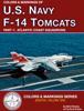 Bert Kinzey - Colors & Markings of U. S. Navy F-14 Tomcats, Part 1:  Atlantic Coast Squadrons artwork