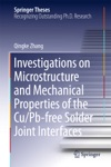 Investigations On Microstructure And Mechanical Properties Of The CuPb-free Solder Joint Interfaces