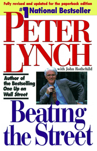 Beating the Street Copertina del libro