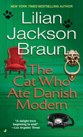 The Cat Who Ate Danish Modern book