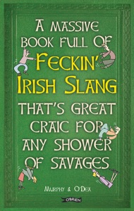 A Massive Book Full of FECKIN' IRISH SLANG that's Great Craic for Any Shower of Savages Book Cover