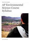 AP Environmental Science Course Syllabus