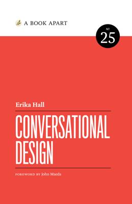 Conversational Design - Erika Hall book
