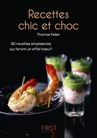 PETIT LIVRE DE - RECETTES CHIC ET CHOC