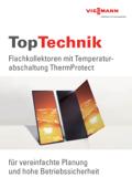 TopTechnik Sonnenkollektoren mit Temperaturabschaltung ThermProtect