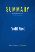 Summary: Profit First