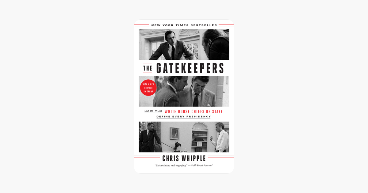 The Gatekeepers - Chris Whipple