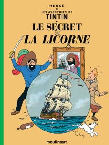 Le Secret de La Licorne La couverture du livre martien