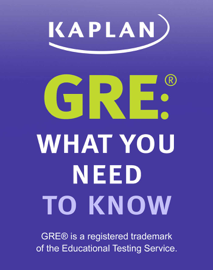 GRE: What You Need to Know