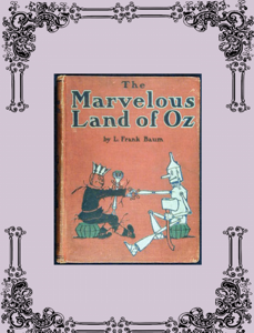 The Marvelous Land of Oz Cover Book
