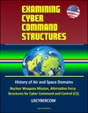 Examining Cyber Command Structures - History Of Air And Space Domains Nuclear Weapons Mission Alternative Force Structures For Cyber Command And Control C2 USCYBERCOM