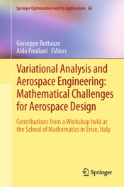 Download and Read Online Variational Analysis and Aerospace Engineering: Mathematical Challenges for Aerospace Design