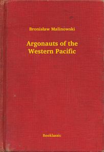 Argonauts of the Western Pacific Copertina del libro