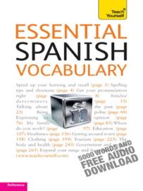 Essential Spanish Vocabulary: Teach Yourself book