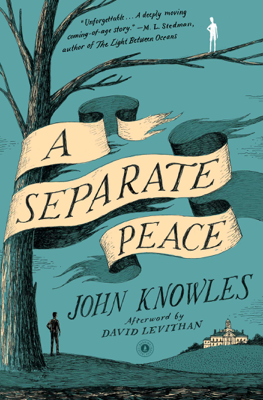 A Separate Peace - John Knowles book